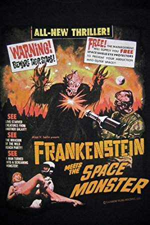 Frankenstein Meets The Spacemonster