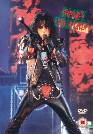 Alice Cooper Trashes The World