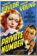 Private Number (1936)