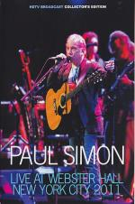Paul Simon: Live At Webster Hall, New York