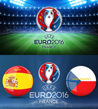 Uefa Euro 2016 Group D Spain Vs Czech Republic